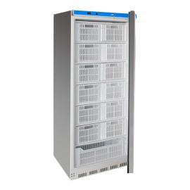 Armoire réfrigérée négative inox 600