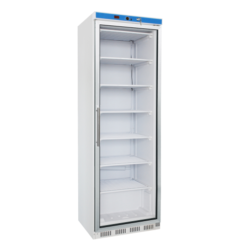 glass door freezer cabinet