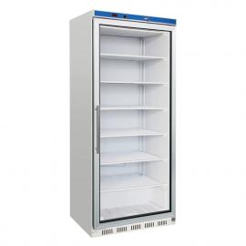 Armario congelador puerta cristal 600