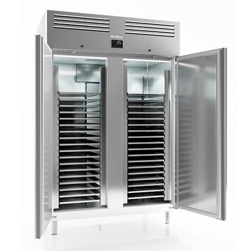 Armoire réfrigérée négative à pâtissière 60x40 2 portes inox