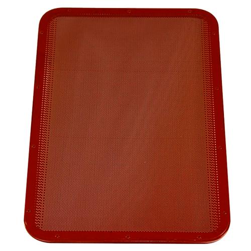 plateau perforé silicone lisse 60x40