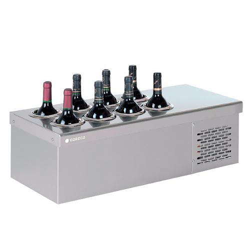 bouteilles de vin conservatrices