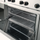 Cooker 4 burners with gas oven