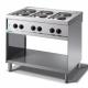 Cocina 6 fuegos eléctrica