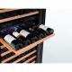 Cava wines 1 to 2 temperature zones