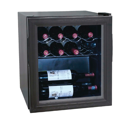 Refrigerator wines lacquered steel