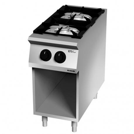 Cocina 2 fuegos gas EM7