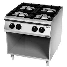 Cocina 4 fuegos gas