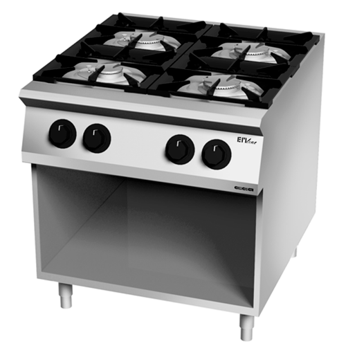 Kitchen 4 burners gas