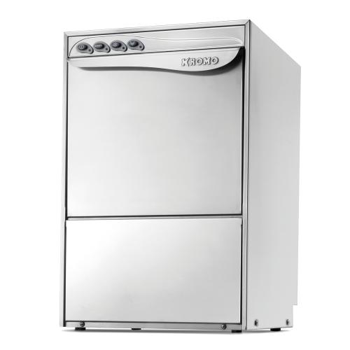 Lave-vaisselle professionnel double paroi KROMO Dupla 45