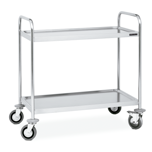 Service trolley 2 or 3 shelves
