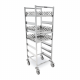 Trolley for dishwasher baskets