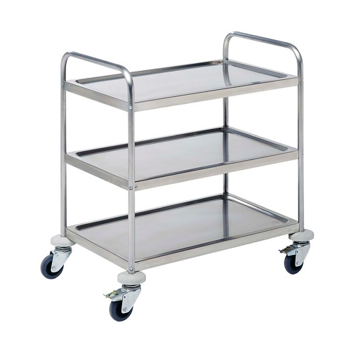 Service trolley 2 shelves