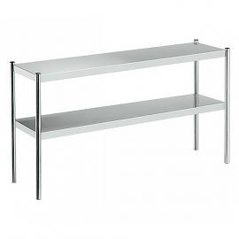 plate shelf double
