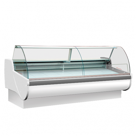 Refrigerated display cabinet curve L