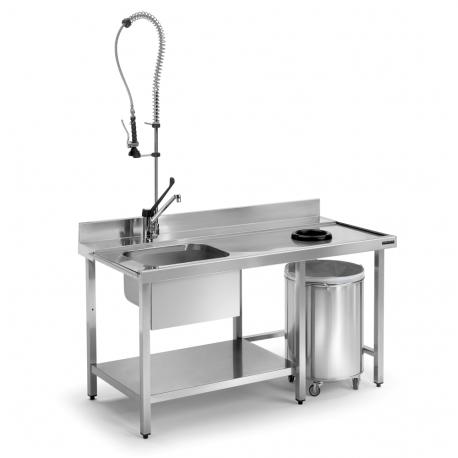 Prewash tables desbarazado aro