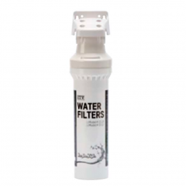 Filtre anticalcaire + anti-chlore