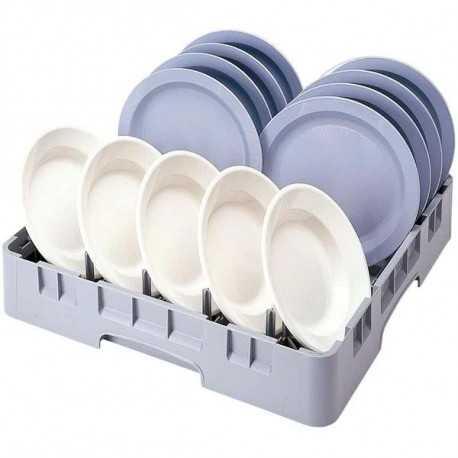 Dishwasher plate basket
