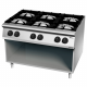 6 brûleurs cuisinière à gaz