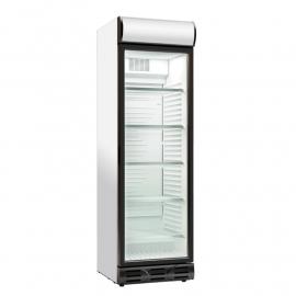 Glass door bottle refrigerator