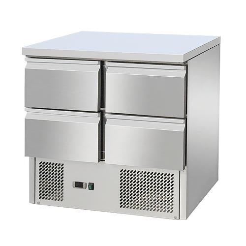 Table réfrigérée 2 portes avec tiroirs