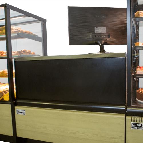 Mueble caja panadería