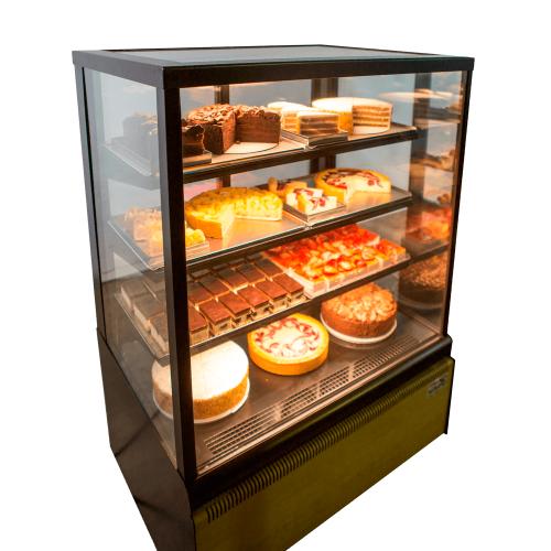 Vitrina pastelería refrigerada