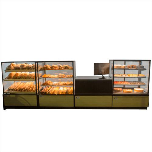 Set vitrines boulangerie-pâtisserie CSB