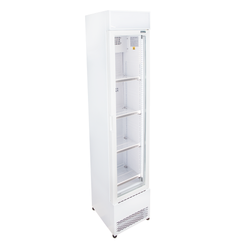 Exhibiting upright refrigerator
