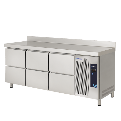 Tables réfrigérées positives 600 avec tiroirs