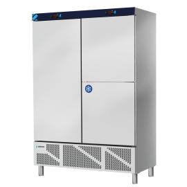 double fridge with frozen compartment