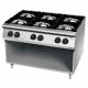 Cuisinière 6 brûleurs à gaz 900