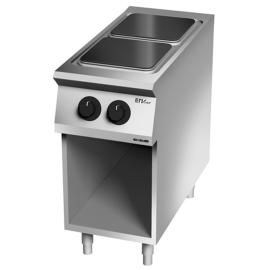 Cocina 2 fuegos eléctrica 900