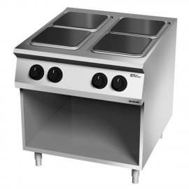 Cocina 4 fuegos eléctrica 900