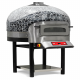 Horno pizza cúpula rotativo eléctrico