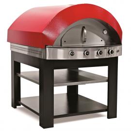 Horno pizzas gas Inox