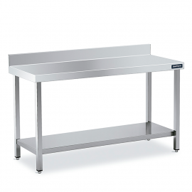 Central work tables