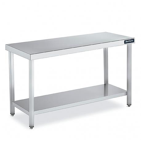 tables de travail central