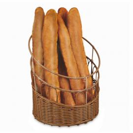 Corbeille à pain polypropylène ronde