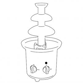 Xocolatera elèctrica 10 L