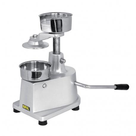 Hamburger pressing machine