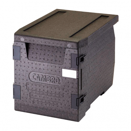 Cambro front-loading food transport container