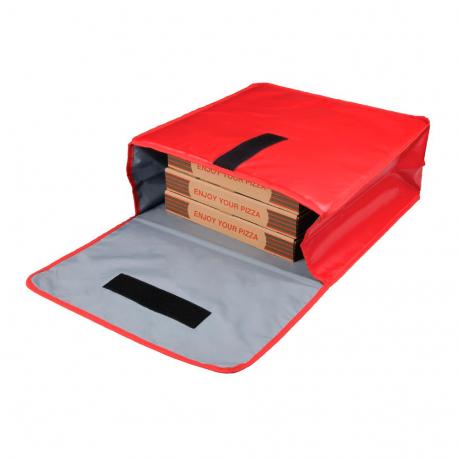 Sac de livraison isotherme pour pizza en vinyle