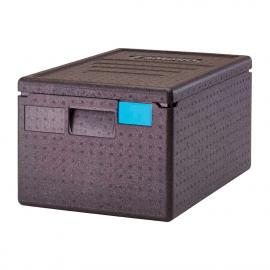 Contenedor carga superior Cambro transporte de alimentos aislado de 46 litros
