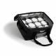 Large catering bag with removable liner and 3 pan separators