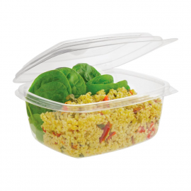 Vegware Compostable PLA Hinged-Lid Deli Containers