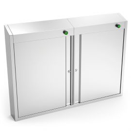 Double ozone cabinet