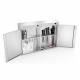 Double ozone cabinet
