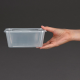 Contenedores de plástico Fiesta para microondas