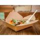 Caja comida para llevar cartón (Pack de 150 uds.)